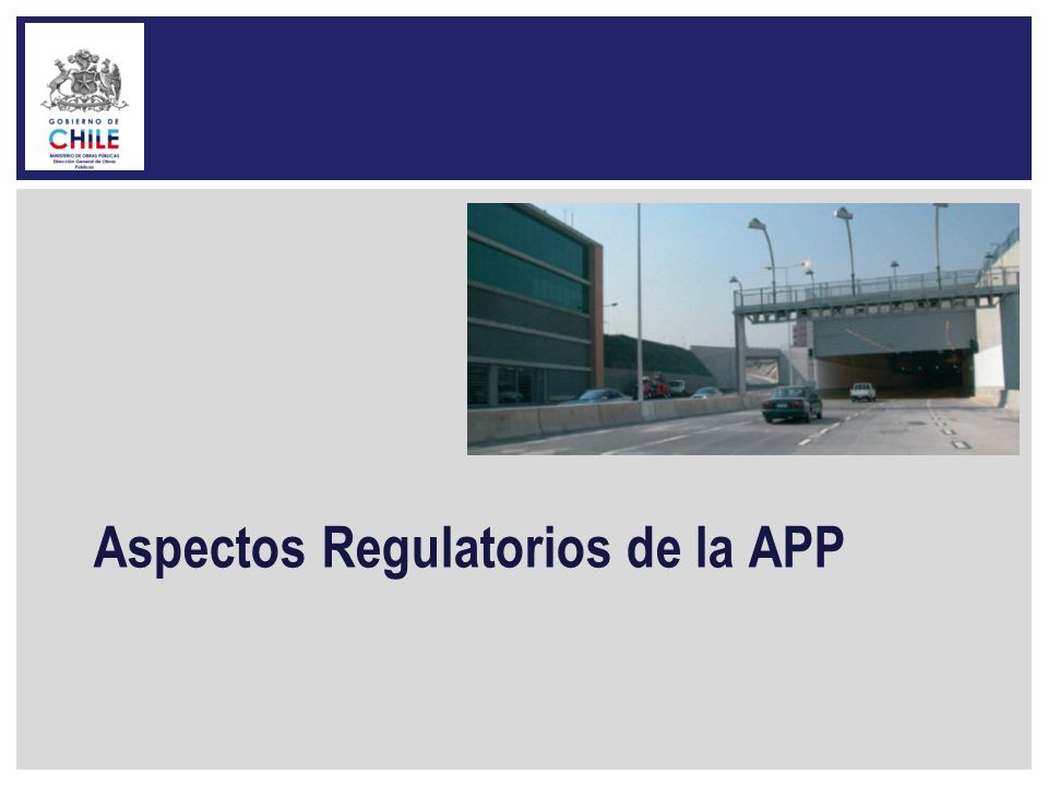 Aspectos Regulatorios de la APP