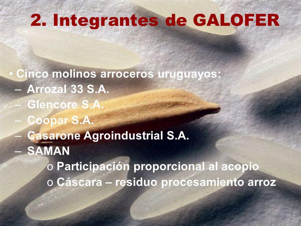 2. Integrantes de GALOFER
