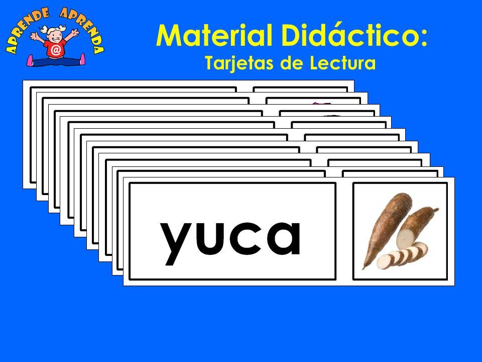 aprende aprenda Material Didáctico: Tarjetas de Lectura