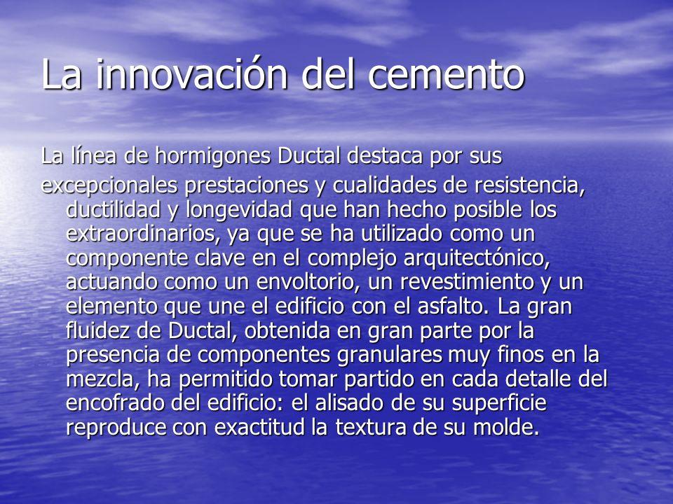 La innovación del cemento