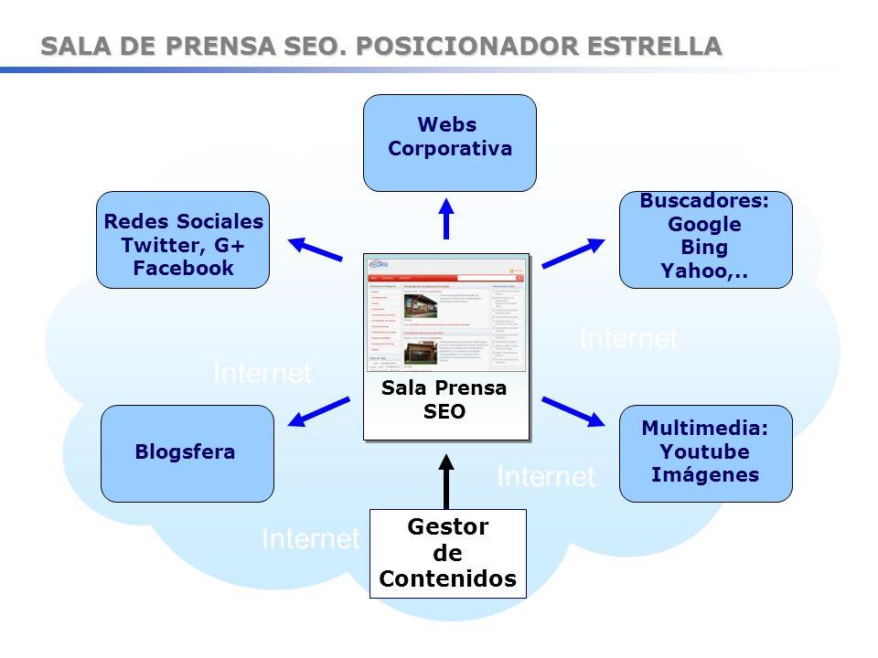 SALA DE PRENSA SEO. POSICIONADOR ESTRELLA