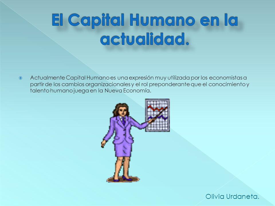 El Capital Humano en la actualidad.