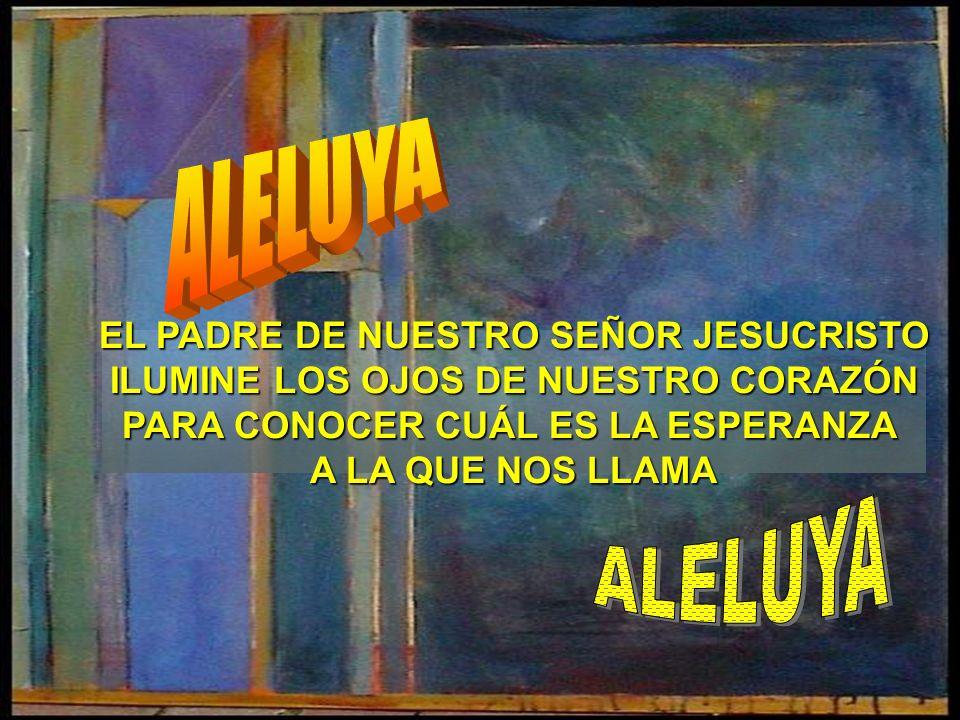 ALELUYA ALELUYA EL PADRE DE NUESTRO SEÑOR JESUCRISTO