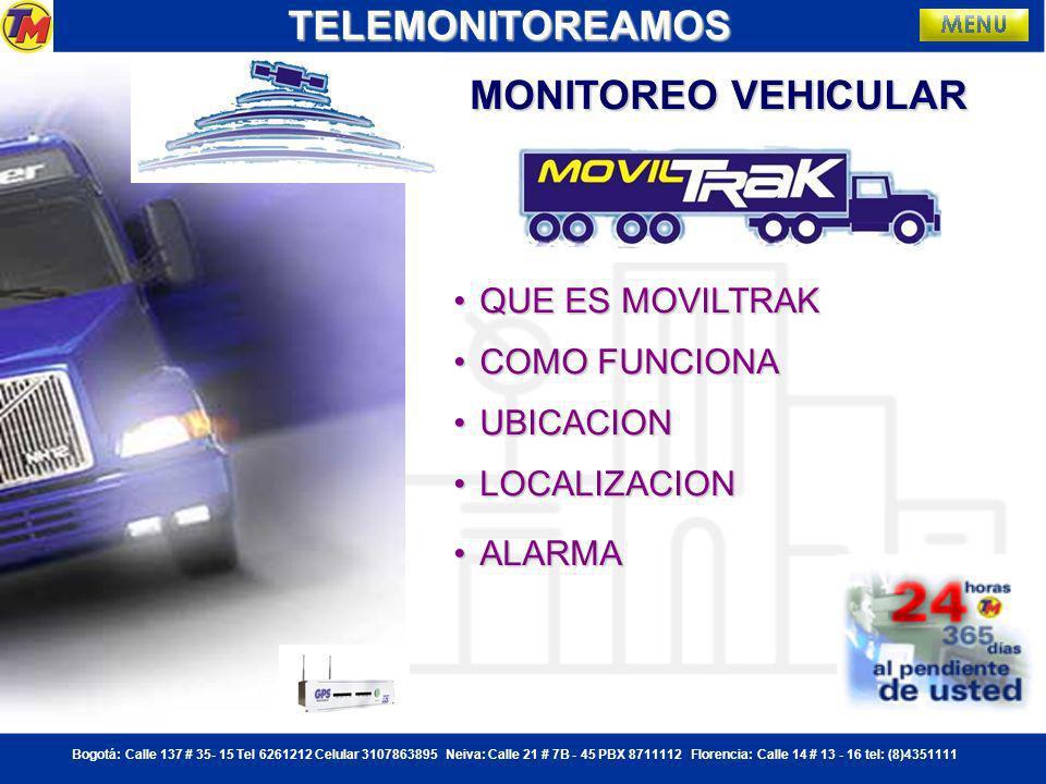 TELEMONITOREAMOS MONITOREO VEHICULAR QUE ES MOVILTRAK COMO FUNCIONA