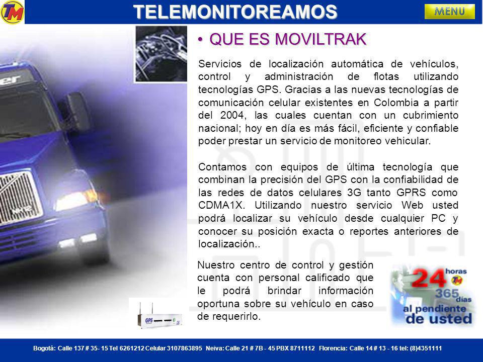 TELEMONITOREAMOS QUE ES MOVILTRAK