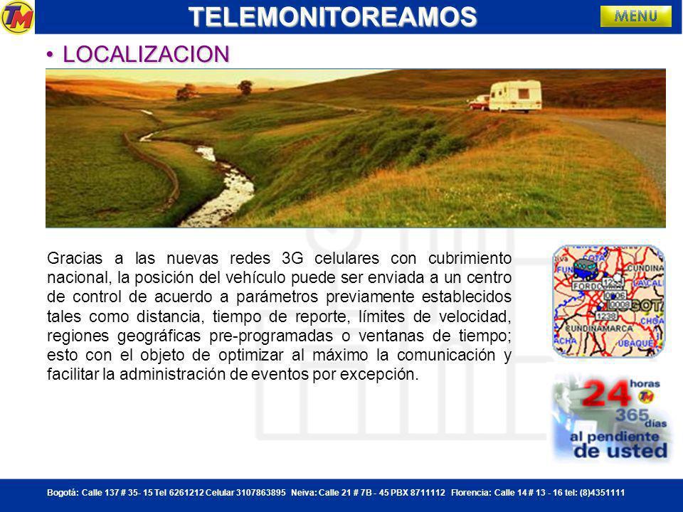 TELEMONITOREAMOS LOCALIZACION