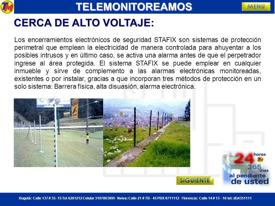 TELEMONITOREAMOS CERCA DE ALTO VOLTAJE:
