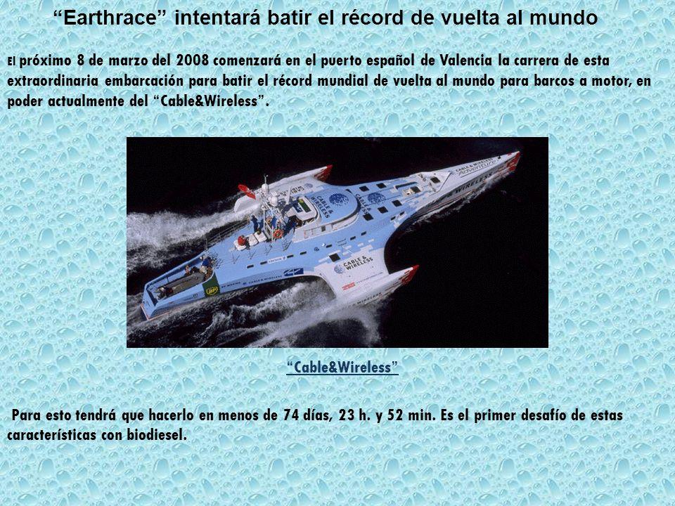 Earthrace intentará batir el récord de vuelta al mundo