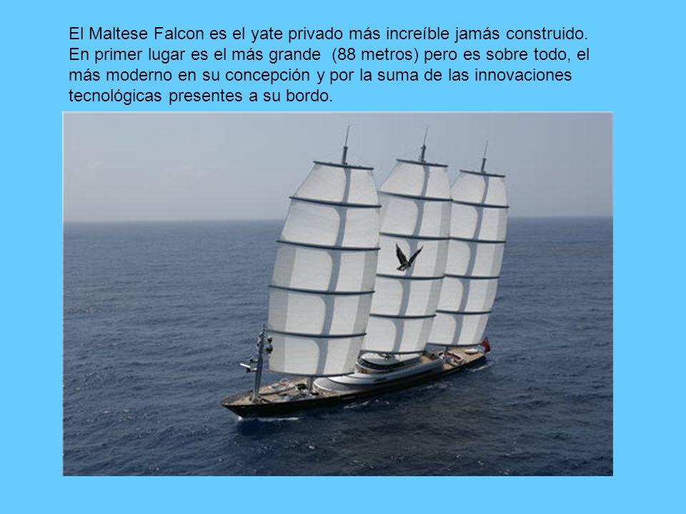 El Maltese Falcon es el yate privado más increíble jamás construido