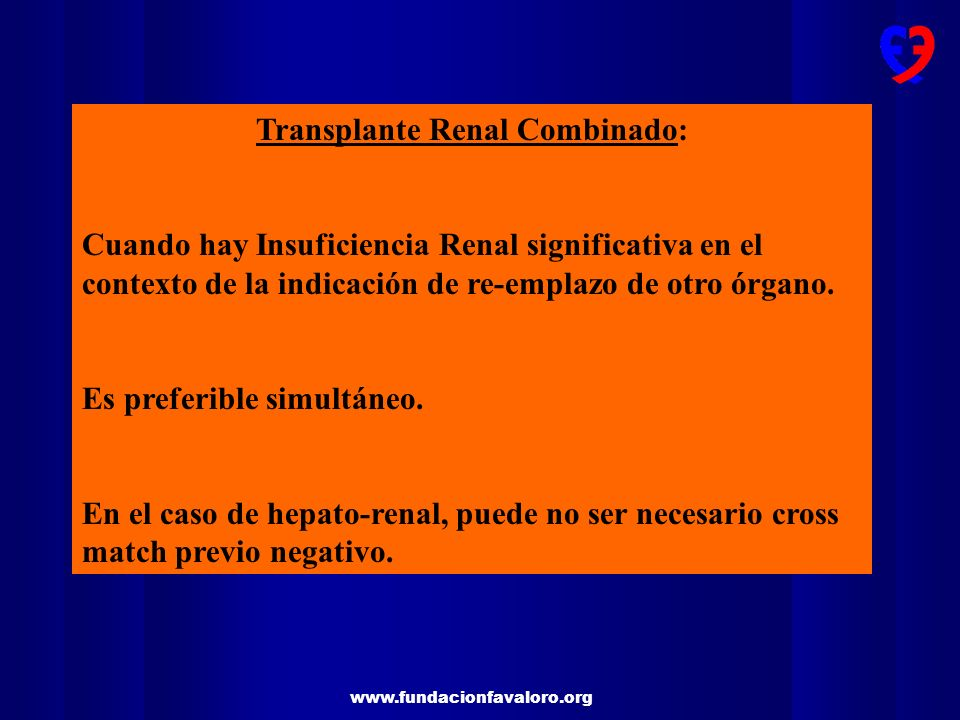 Transplante Renal Combinado: