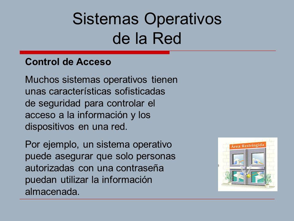 Sistemas Operativos de la Red