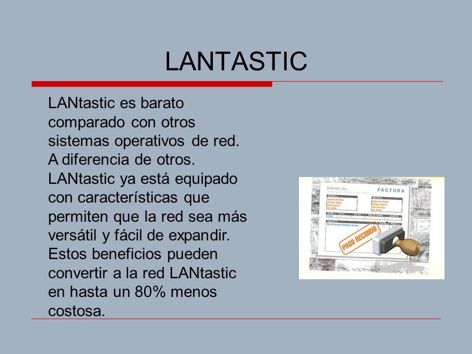 LANTASTIC