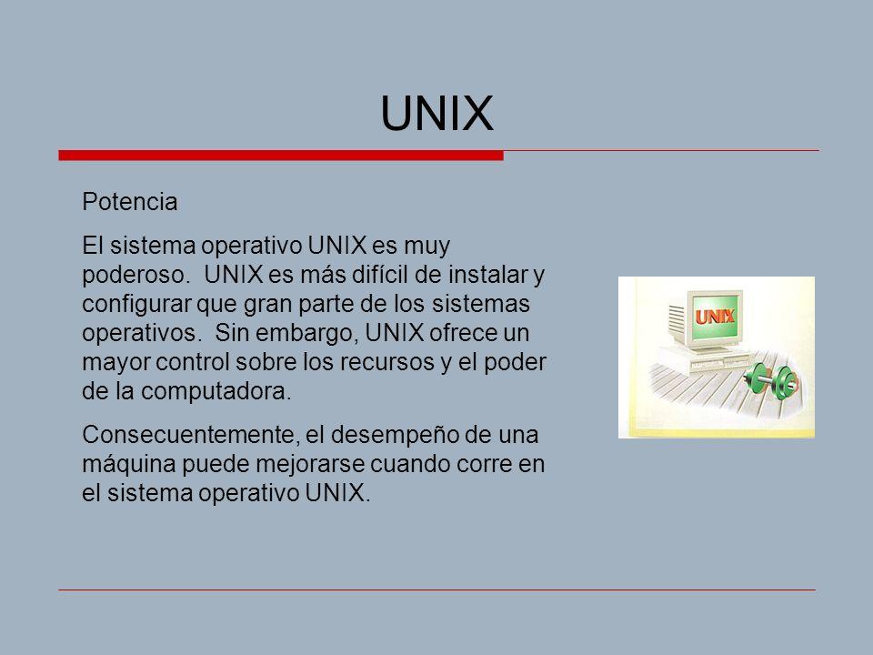 UNIX Potencia.
