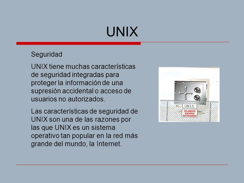 UNIX Seguridad.