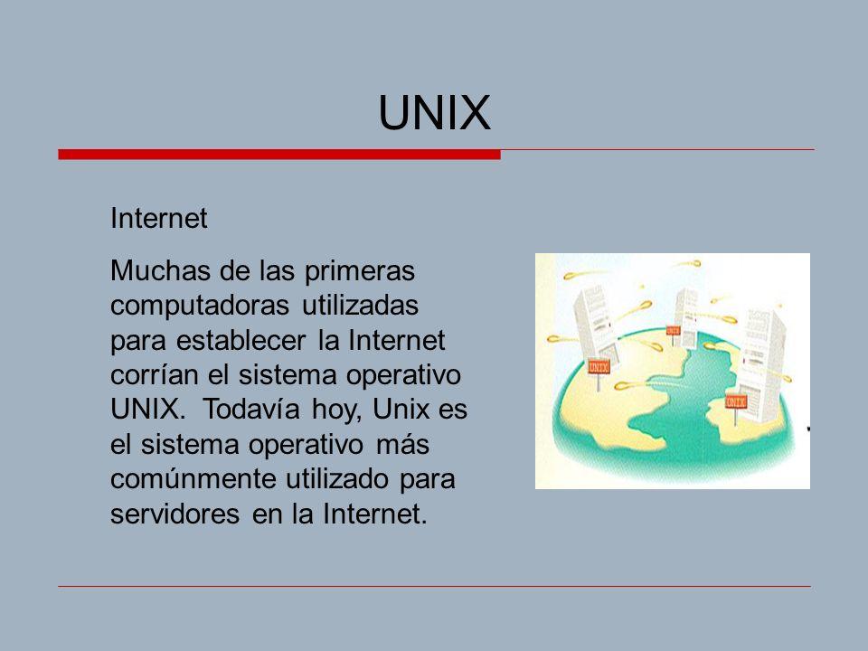 UNIX Internet.