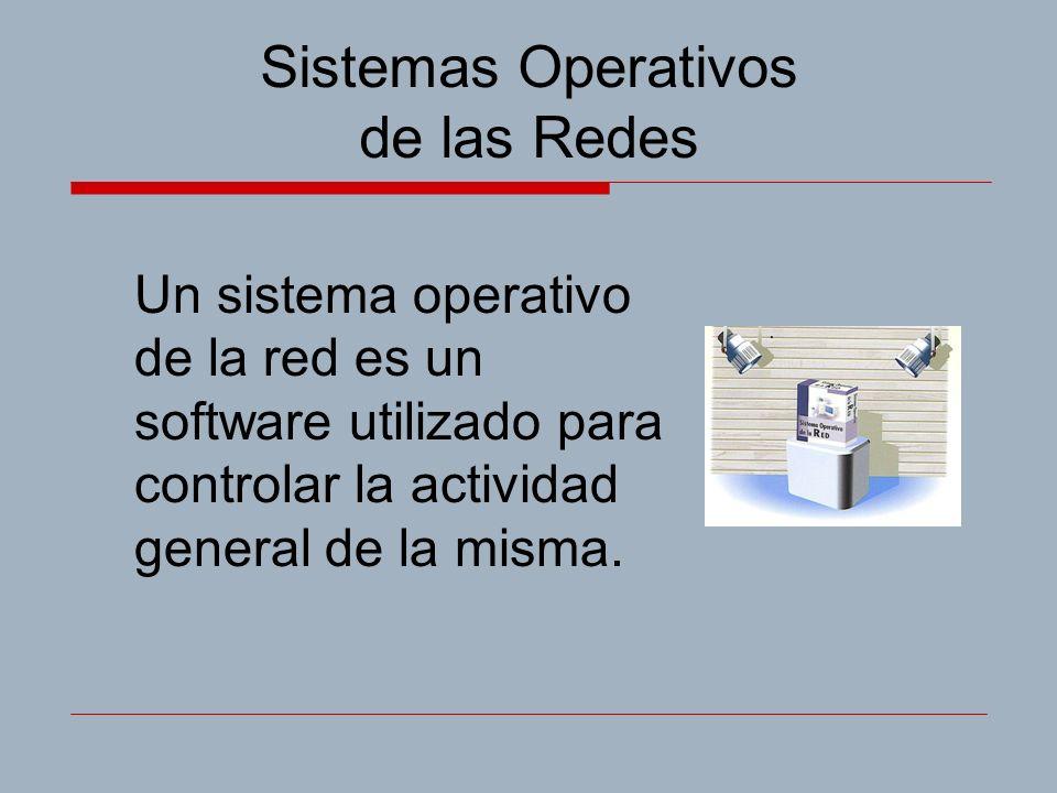 Sistemas Operativos de las Redes