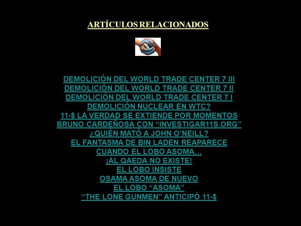 ARTÍCULOS RELACIONADOS THE LONE GUNMEN ANTICIPÓ 11-$