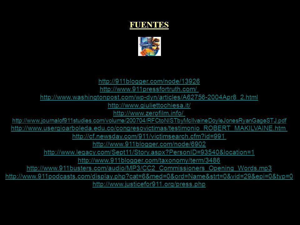 FUENTES http://911blogger.com/node/13926