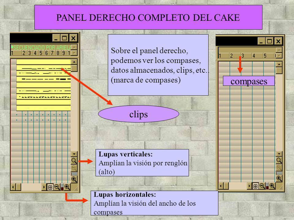 PANEL DERECHO COMPLETO DEL CAKE