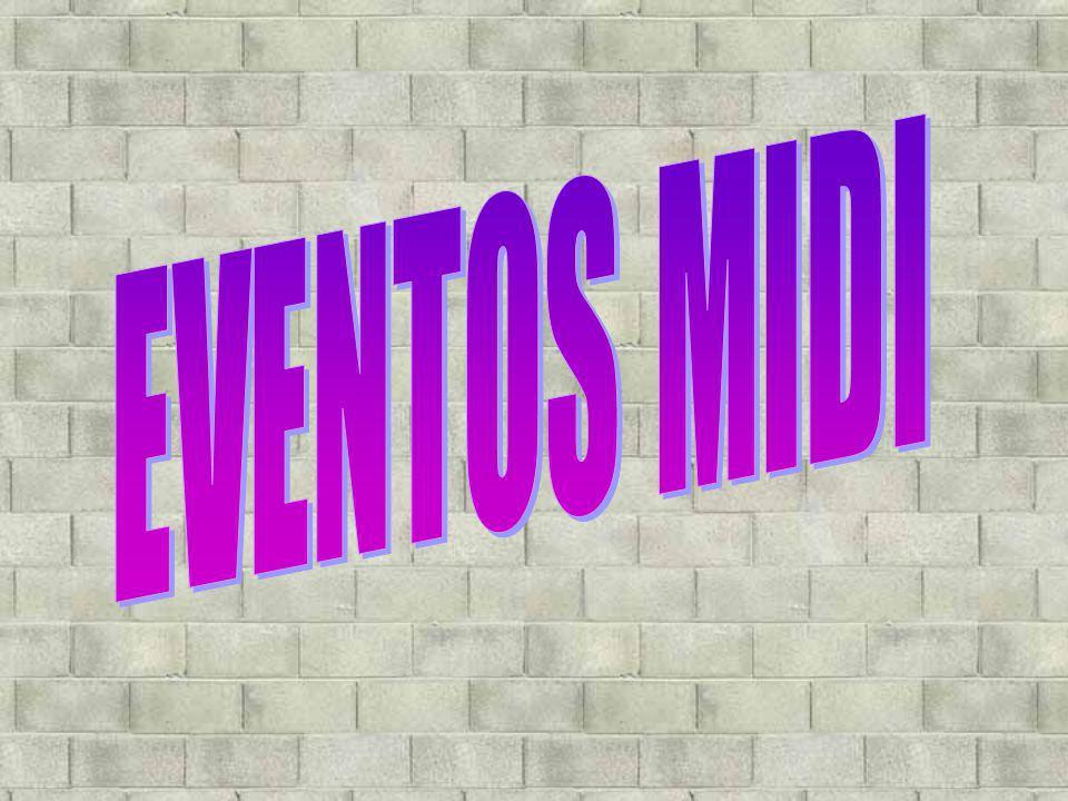 EVENTOS MIDI