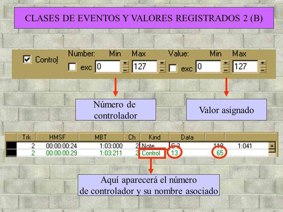 CLASES DE EVENTOS Y VALORES REGISTRADOS 2 (B)