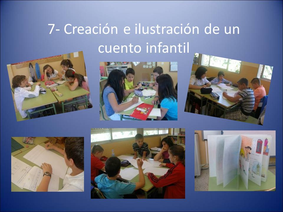 7- Creación e ilustración de un cuento infantil