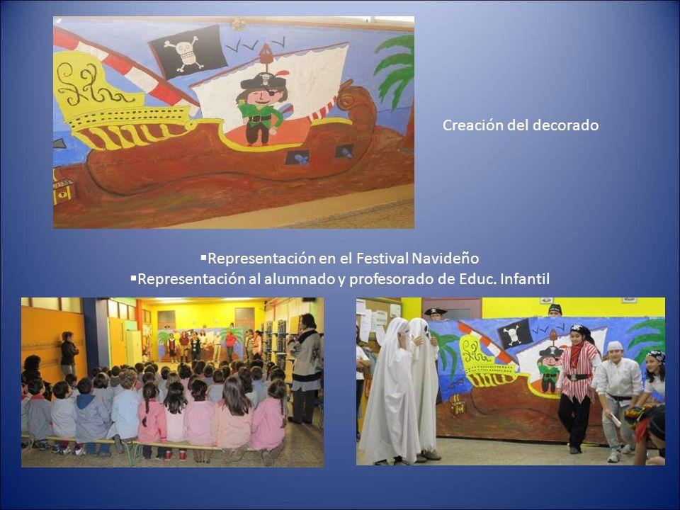 Representación en el Festival Navideño