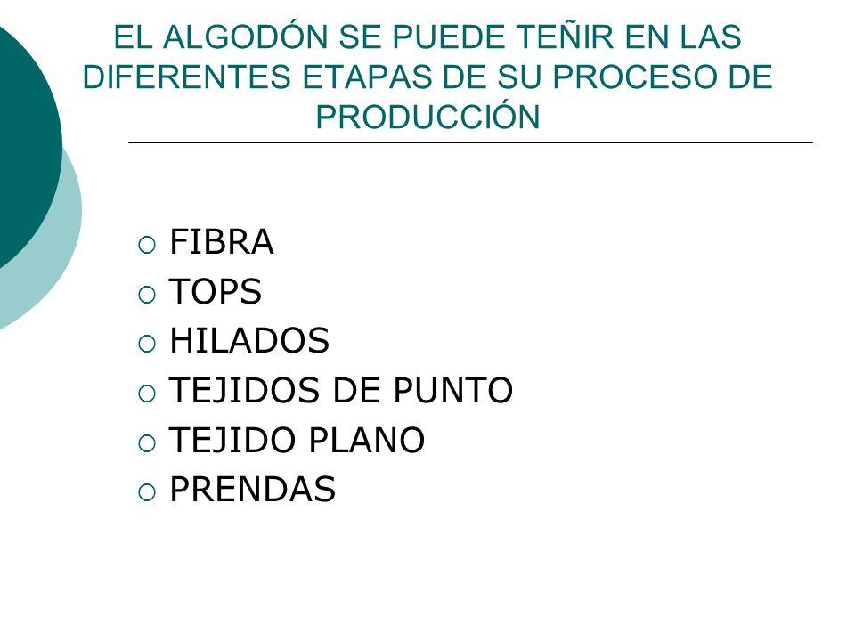 FIBRA TOPS HILADOS TEJIDOS DE PUNTO TEJIDO PLANO PRENDAS