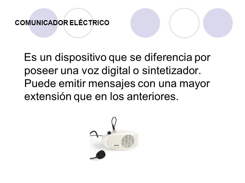 COMUNICADOR ELÉCTRICO