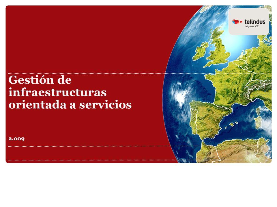 Gestión de infraestructuras orientada a servicios