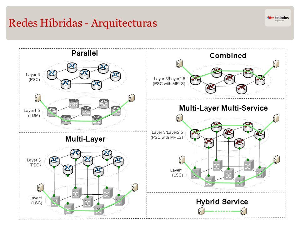 Redes Híbridas - Arquitecturas