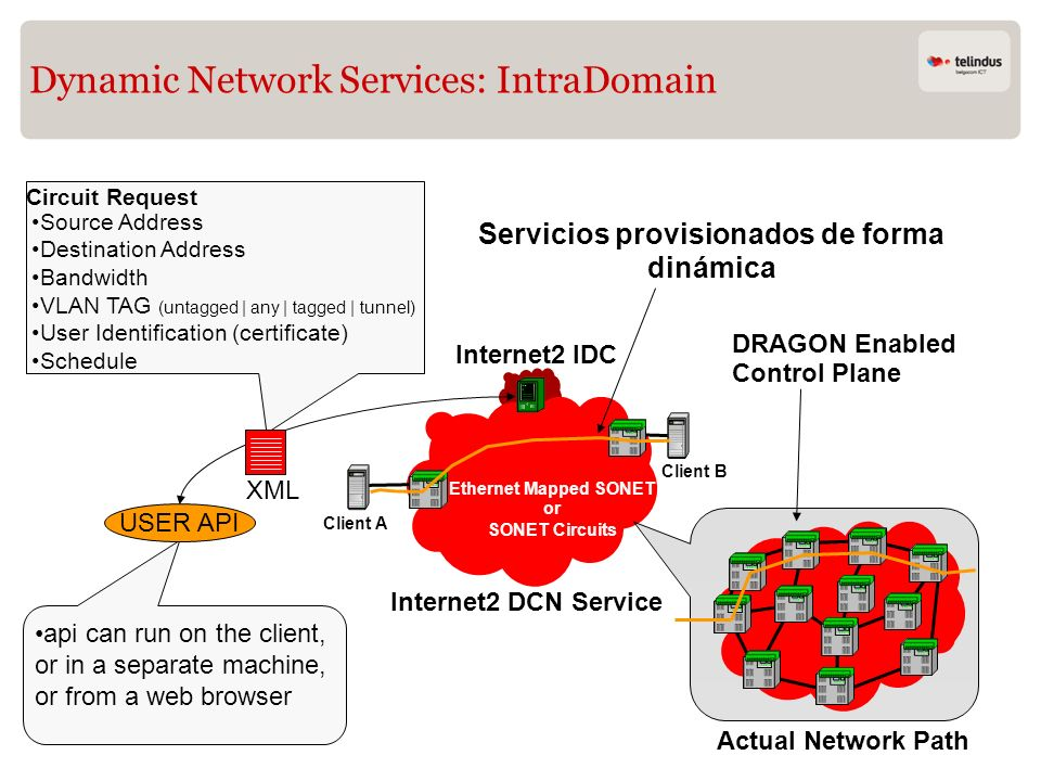 Dynamic Network Services: IntraDomain