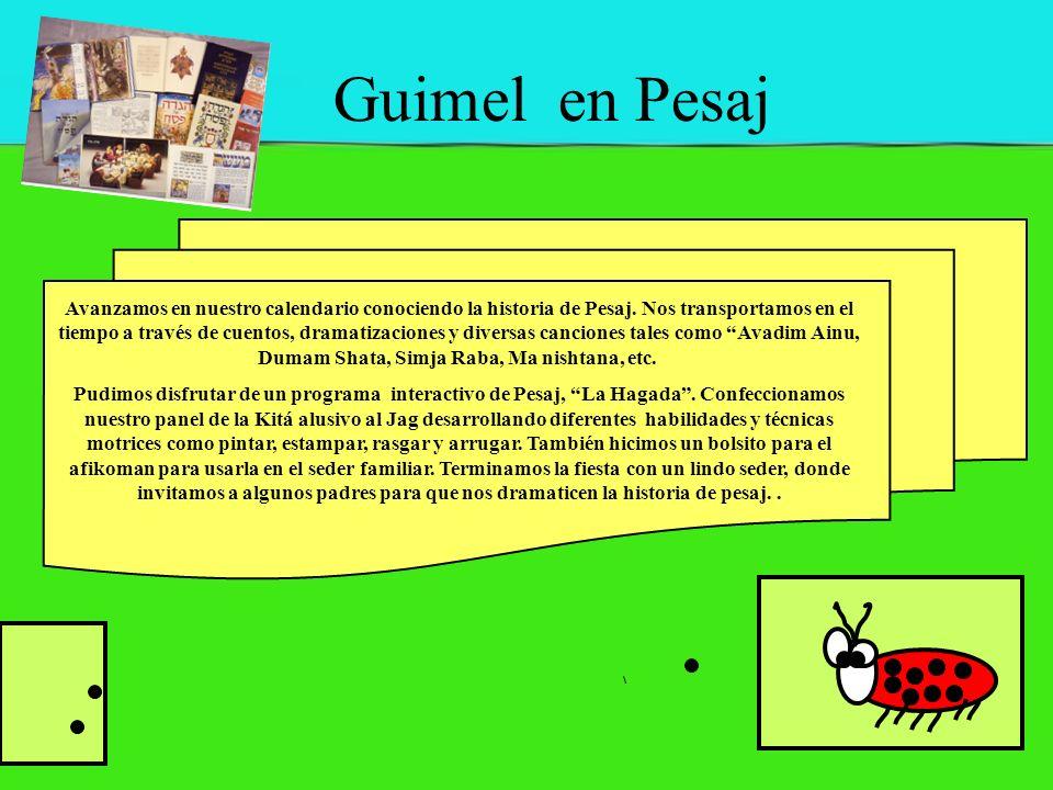 Guimel en Pesaj