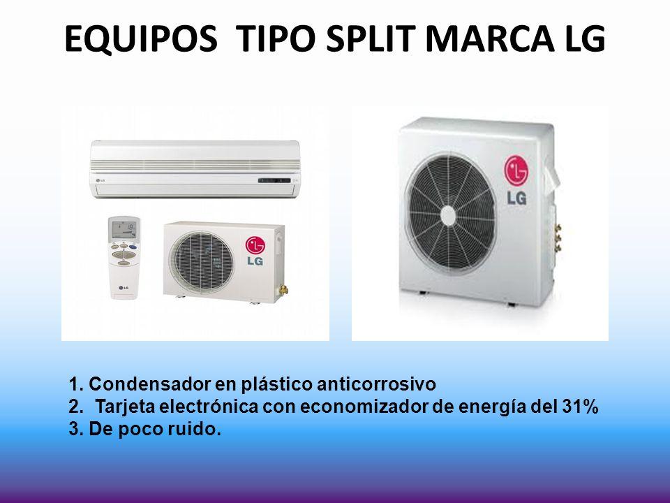 EQUIPOS TIPO SPLIT MARCA LG