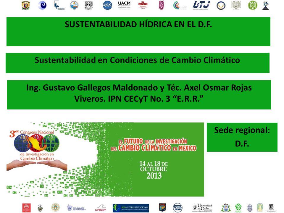 Sustentabilidad h drica en el d f ppt descargar for Viveros en maldonado