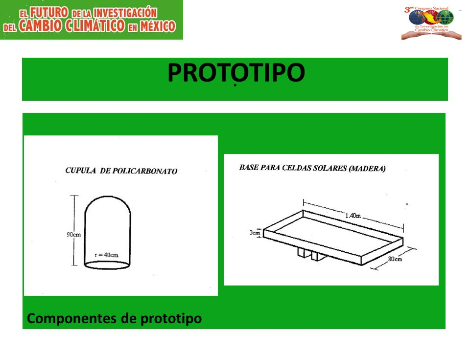 . PROTOTIPO Componentes de prototipo