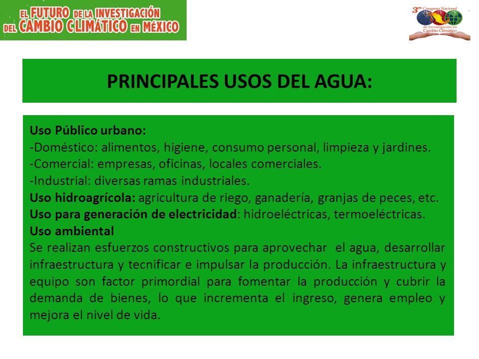 Sustentabilidad h drica en el d f ppt descargar for Peces de agua fria para consumo humano