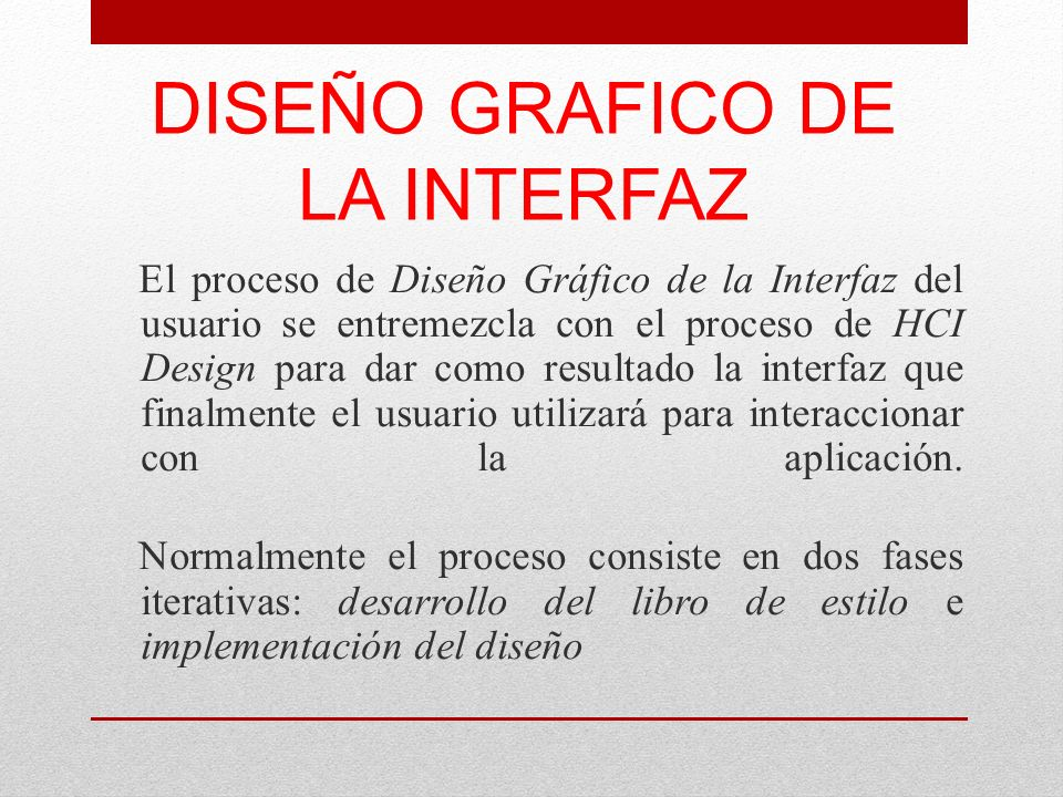 DISEÑO GRAFICO DE LA INTERFAZ