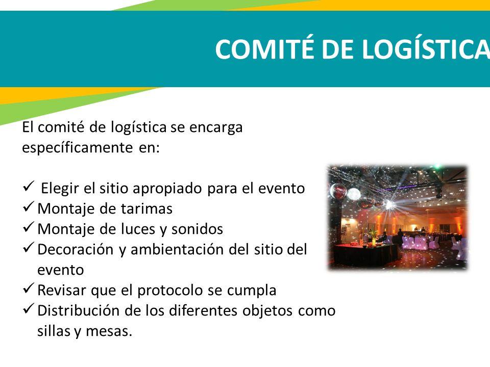 GRACIAS COMITÉ DE LOGÍSTICA