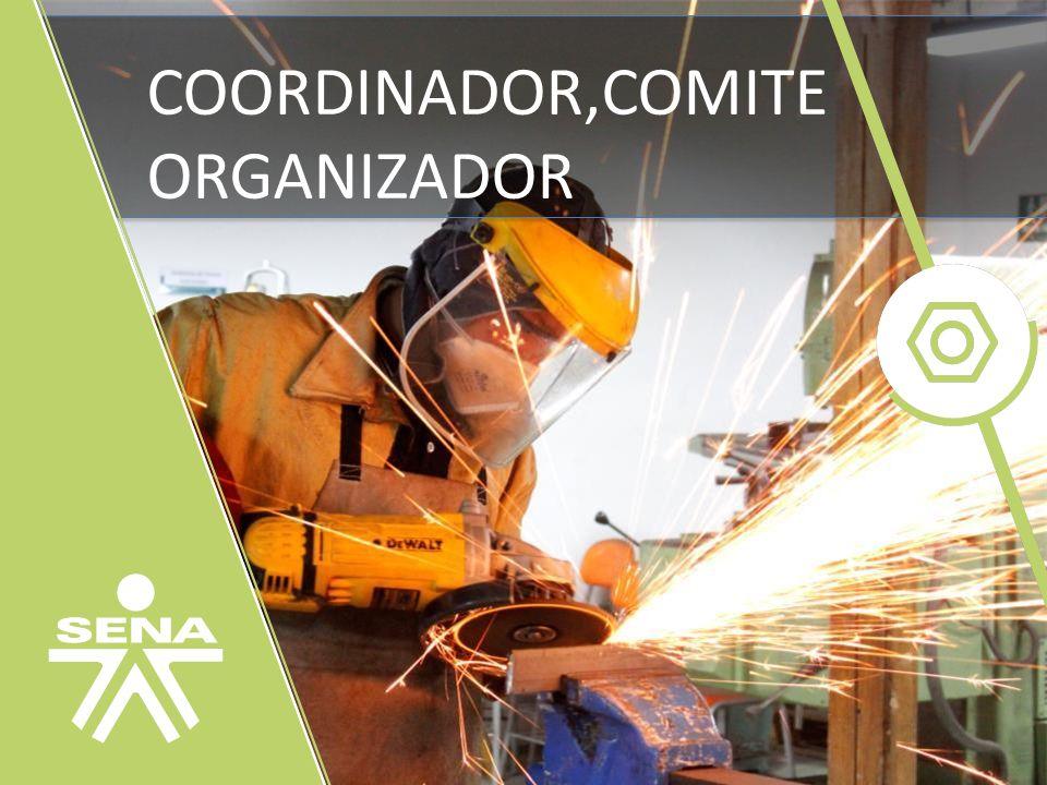 COORDINADOR,COMITE ORGANIZADOR