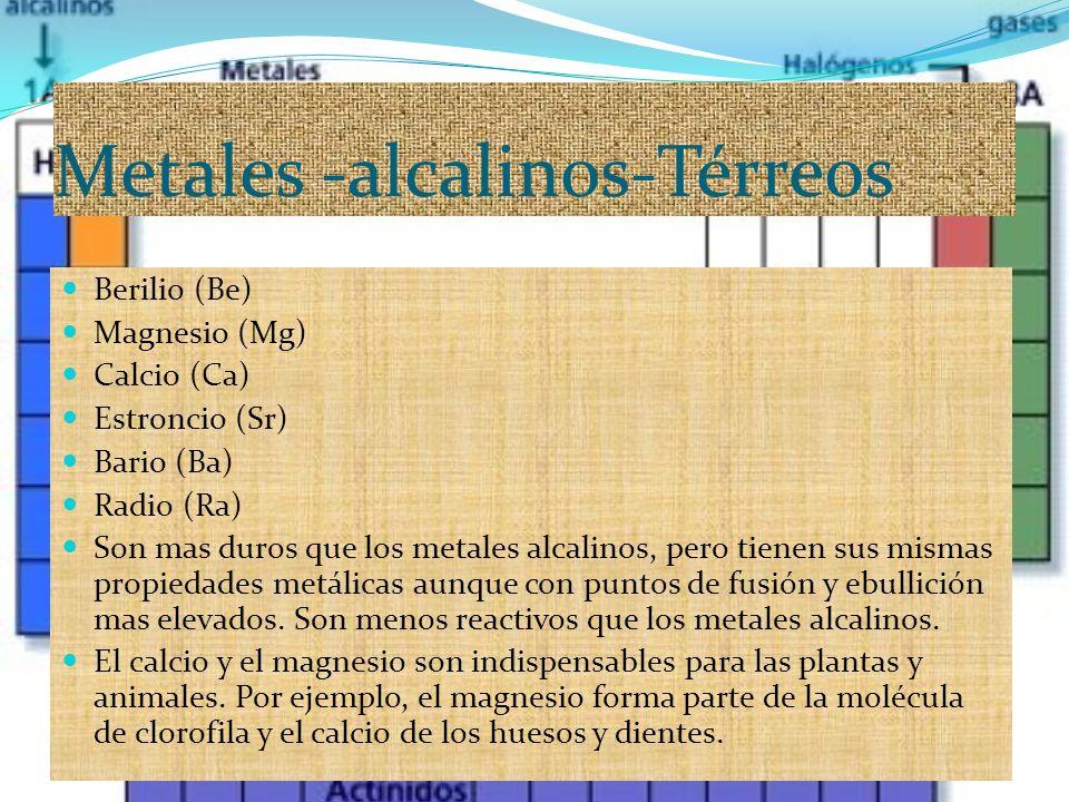 Grupo iia metales alcalinos trreos ppt descargar 3 metales alcalinos trreos urtaz Image collections