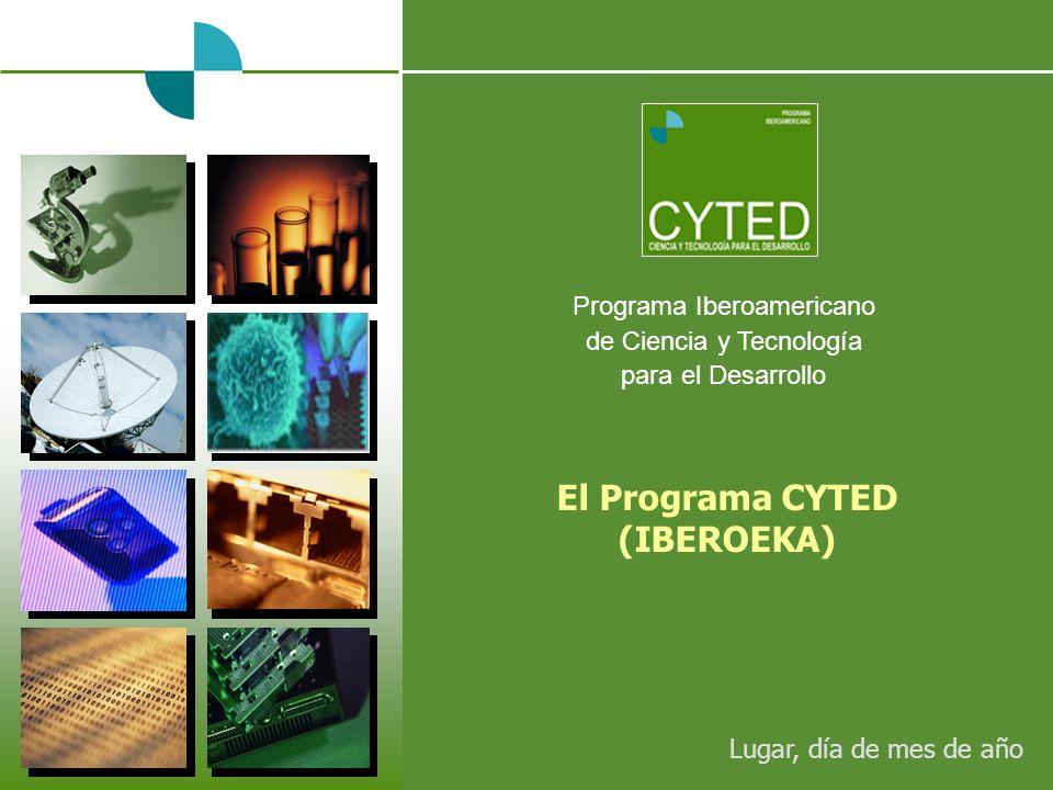 El Programa CYTED (IBEROEKA)