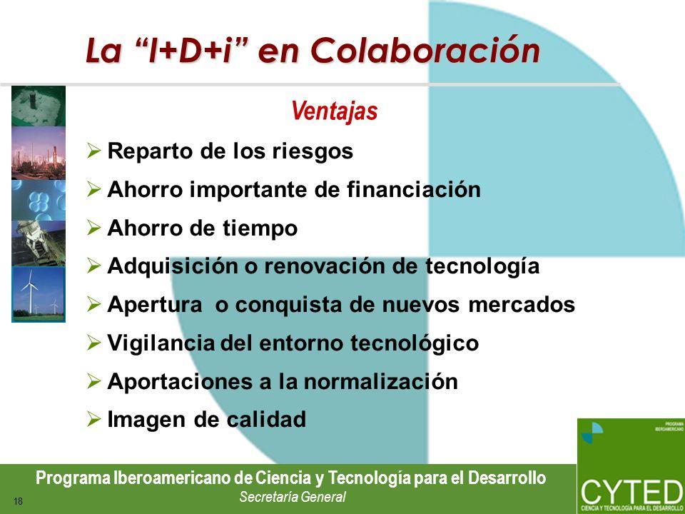 La I+D+i en Colaboración