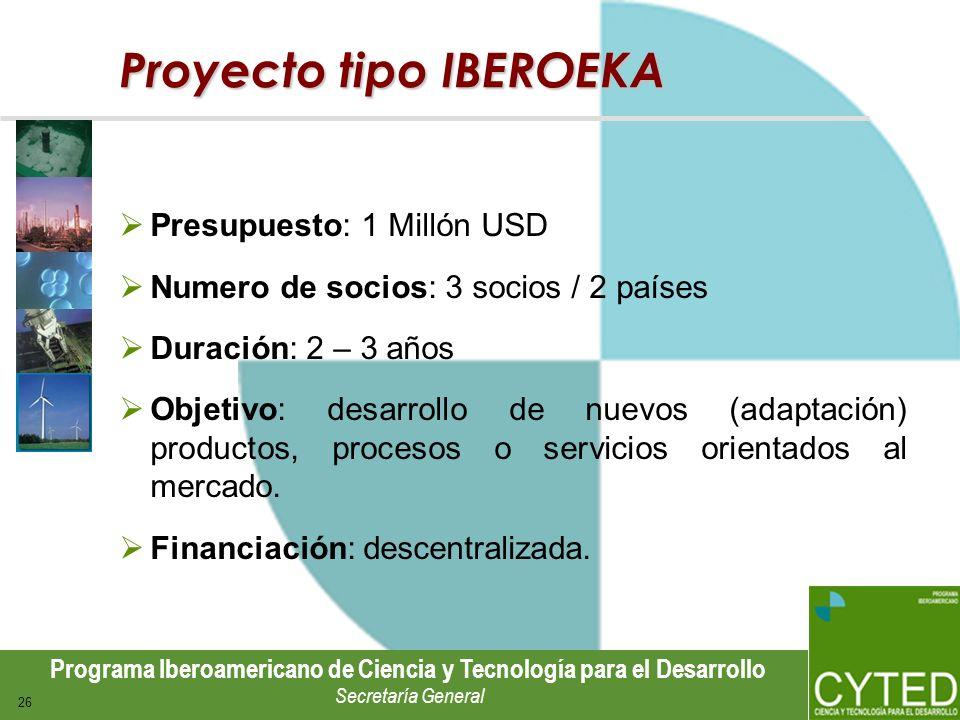 Proyecto tipo IBEROEKA