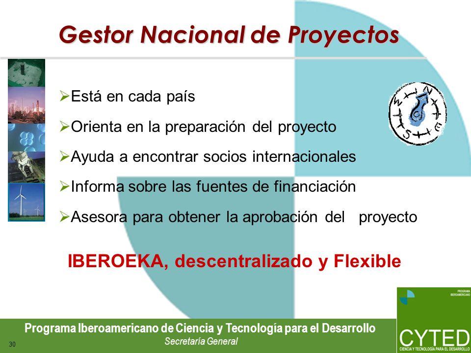 Gestor Nacional de Proyectos