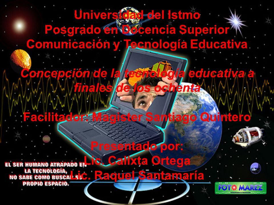 Comunicación y Tecnología Educativa