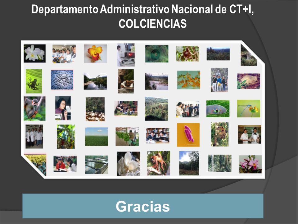 Departamento Administrativo Nacional de CT+I, COLCIENCIAS