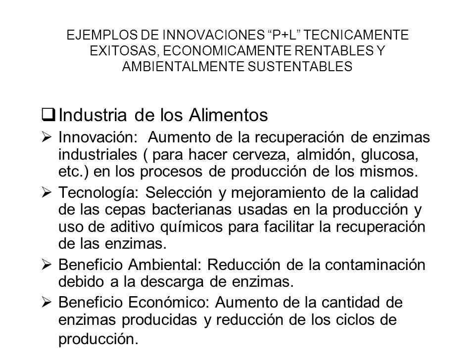 Industria de los Alimentos