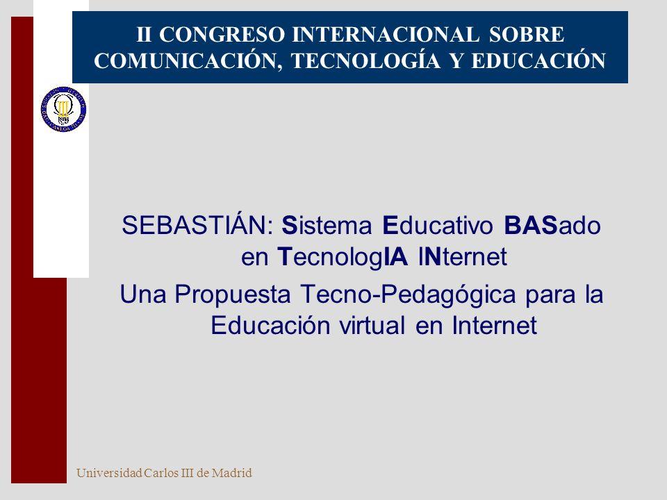 II CONGRESO INTERNACIONAL SOBRE COMUNICACIÓN, TECNOLOGÍA Y EDUCACIÓN