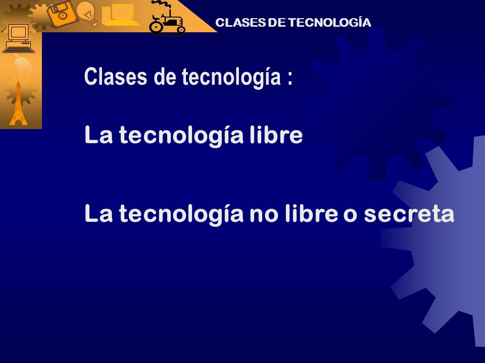La tecnología no libre o secreta